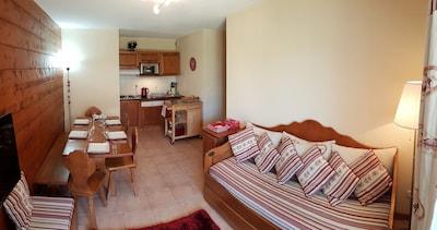 lounge, dining kitchen