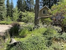 Private, on acreage and surrounded by trees, peace and quiet
