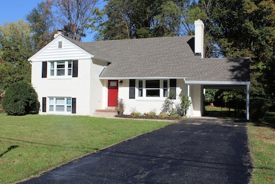 Spacious Five level home on a private, fenced acre lot!