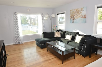 Living Room with view to the outside of the front house