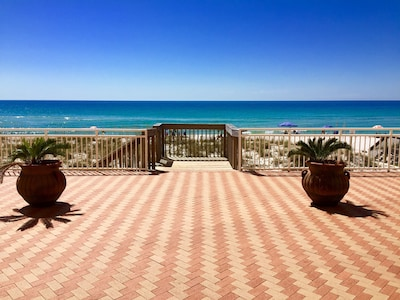 Walk right out from the condo directly on to the beach