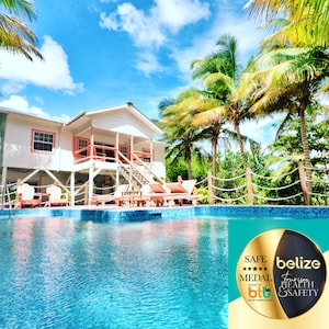 Belize Government Gold Standard Approved Hotel listed as Escape Away Belize