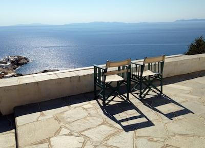 Plage de Gialos, Sifnos, Égée-Méridionale, Grèce