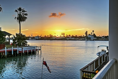 Located directly on the water of the Port Isabel Channel.