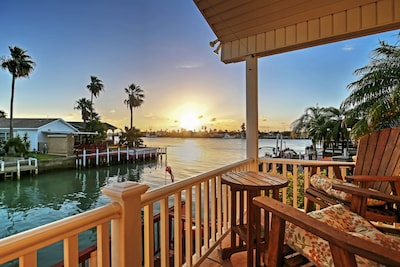 Experience the best of Port Isabel in this beautiful vacation rental cottage.