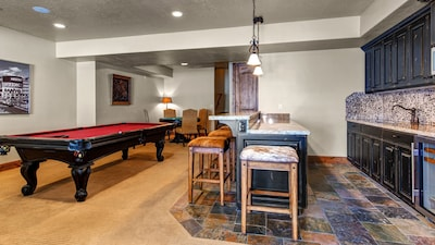 1273 Stillwater Shores - a SkyRun Park City Property - Wet Bar and Pool Table