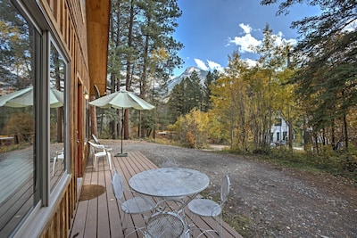 Delve into mesmerizing mtn views at this 1-bed + loft Marble vacation rental!
