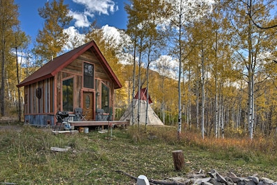 Surround yourself with nature as you stay at this Marble vacation rental cabin!