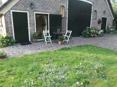 The back side of the farm with a lot of space for our guests.