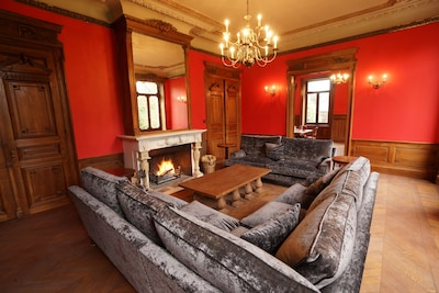 The Red Sitting Room