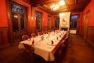 The Dining Room with a table that can seat thirty