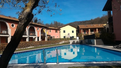 2 FLOOR APARTMENT WITH  TERRACE AND POOL (WI-FI, AIR COND& PARKING)