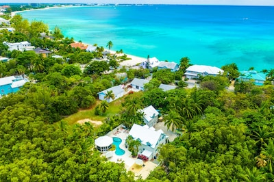 Private Gated Home just 323 ft from Seven Mile Beach