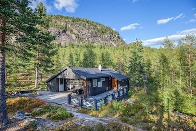 Villa Fridheim, Krødsherad, Viken, Norwegen
