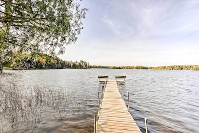 Lake adventures await at this 1-bed, 1-bath vacation rental condo in Winchester!