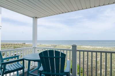 Enjoy this view from your second floor deck.