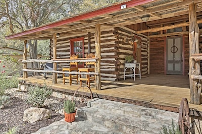 Experience the best of west Texas when you book 'Gruene Cabin.'