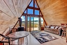 Living Room | Electric Stove | Sleeper Sofa