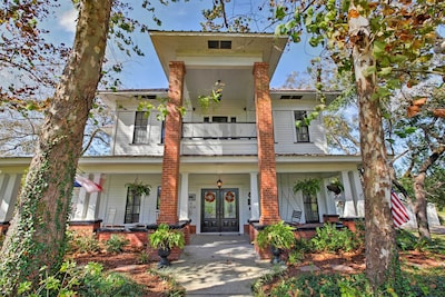 A historic East Texas retreat awaits at this stunning home!