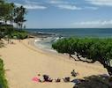 Just a 3 min. walk across the street to Napili Bay Beach!