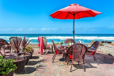Backyard Beach Patio, Perfect Place to Enjoy Your Lunch