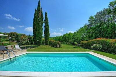 Garden, Pool, Summer