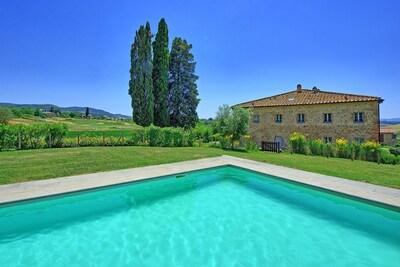 Garden, Pool, Scenic View, Summer