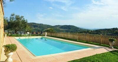 Schwimmbad, Eigentum, Gras, Freizeit, Grundeigentum, Haus, Estate, Gebäude, Villa, Grundstueck