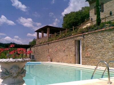 Eigentum, Schwimmbad, Haus, Gebäude, Grundeigentum, Urlaub, Villa, Himmel, Estate, Zuhause