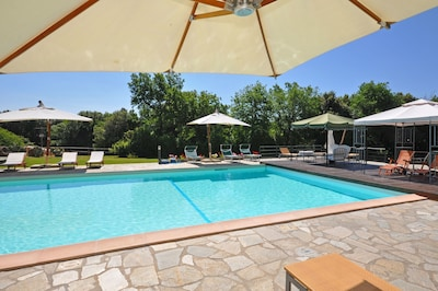 Schwimmbad, Eigentum, Grundeigentum, Gebäude, Resort, Freizeit, Haus, Urlaub, Zuhause, Estate
