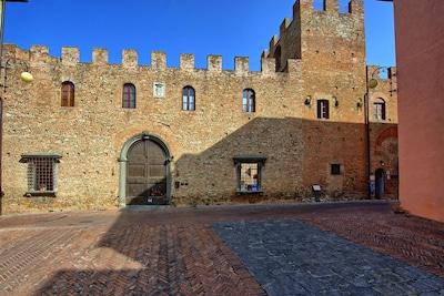 Certaldo Alto, Certaldo, Toscane, Italie