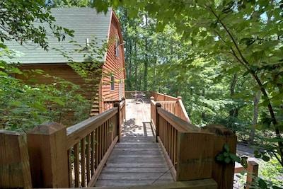 Entrance to Black Bear Cabin