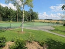 New tennis court