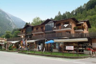 Lago di Ledro Park, Ledro, Trentino-Südtirol, Italien