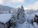 direkt Ausblick vom Haus Ager Ausblick im Winter