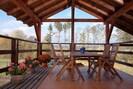 terrasse avec meuble de jardin