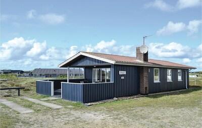 Bjerregård Strand, Hvide Sande, Jutland central, Danemark