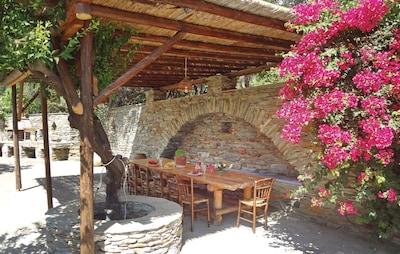Ville d'Andros, Andros, Égée-Méridionale, Grèce