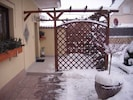 Winterbild Ferienhaus (Nov.-Apr.)