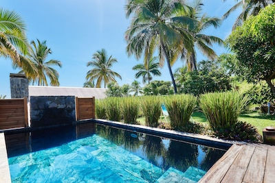 piscine en pierre naturelle (5mx3m, P1,5m)
