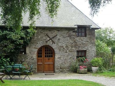 Cerisy-la-Salle, Manche, France