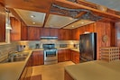 Prepare family favorite recipes in the spacious fully equipped kitchen.