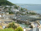 View of Mousehole: Seal Point and its garden mid far right