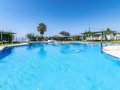 Plaza de los Naranjos, Marbella, Andalousie, Espagne