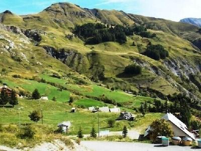 Télésiège des Lacs, Orcières, Hautes-Alpes, France