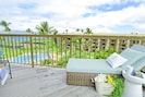 Relax on your private, penthouse lanai.