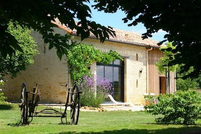 Maison Lascaux, ancien séchoir à tabac entièrement rénové
