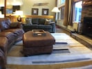 A view of the family room to the dining room.