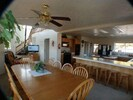 Living Room, Dinning Room and Kitchen.  See updated photo for Dinning Room Seats