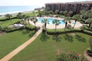 View of pool from Mediterranea 511D
